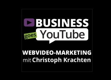Business goes YouTube Logo Entwicklung