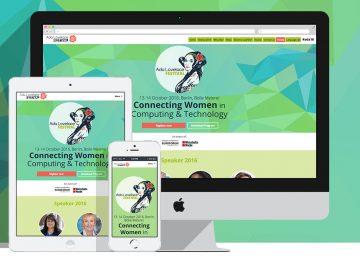 Ada Lovelace Festival Webdesign